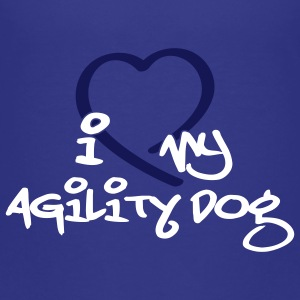 agility dog - Teenage Premium T-Shirt