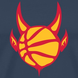 basket ballon diable basketball devil Tee shirts - T-shirt Premium Homme