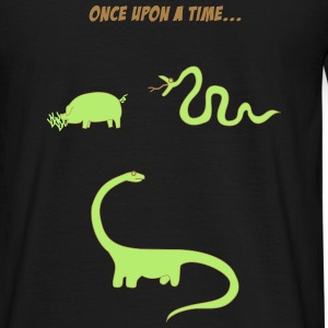 Pig and snake T-Shirts - Männer T-Shirt