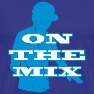 [ On The Mix ] T-shirts - Premium-T-shirt herr