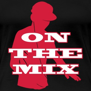 [ On The Mix ] T-skjorter - Premium T-skjorte for kvinner