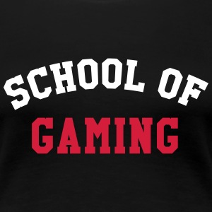 [ School of Gaming ] T-Shirts - Women's Premium T-Shirt