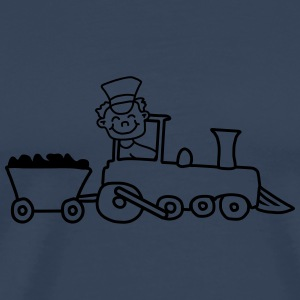 Train Conductor Tee shirts - T-shirt Premium Homme