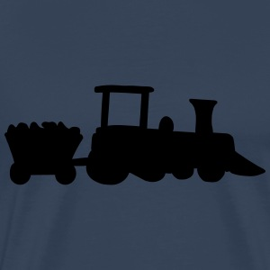 Train-Design T-shirts - Premium-T-shirt herr