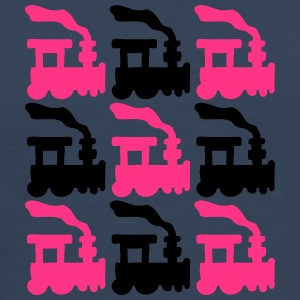 Train Pattern T-shirts - Premium-T-shirt herr
