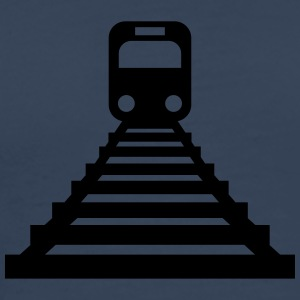 Train-Icon T-shirts - Premium-T-shirt herr