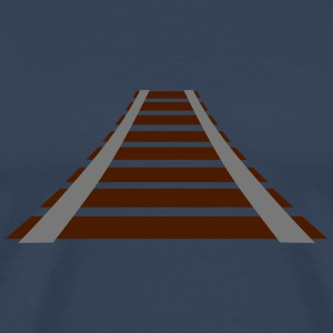 Railways-Design T-shirts - Premium-T-shirt herr