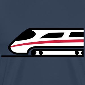 Express Train Logo T-shirts - Premium-T-shirt herr