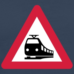 Caution Train T-Shirts - Männer Premium T-Shirt