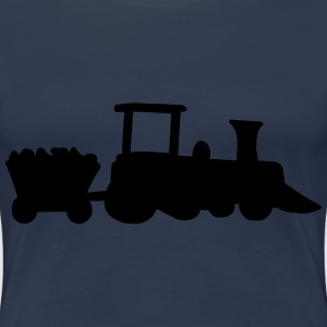 Train-Design Tee shirts - T-shirt Premium Femme