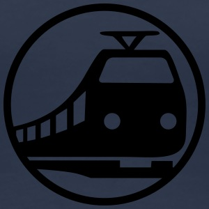Train Icon T-shirts - Dame premium T-shirt