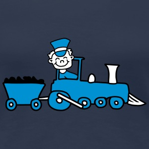 Train Conductor Tee shirts - T-shirt Premium Femme