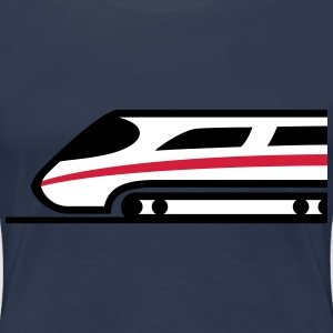Express Train Logo T-Shirts - Women's Premium T-Shirt