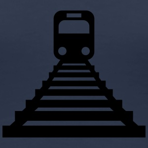 Train-Icon T-shirts - Dame premium T-shirt