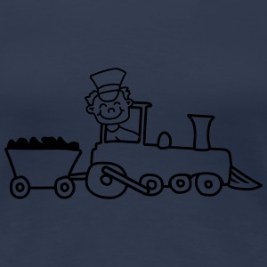 Train Conductor T-Shirts - Women's Premium T-Shirt