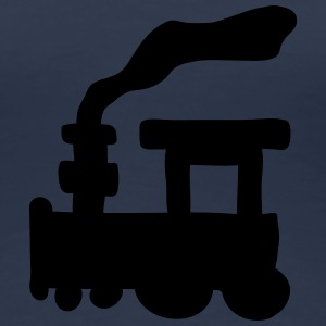 Small Train T-shirts - Premium-T-shirt dam