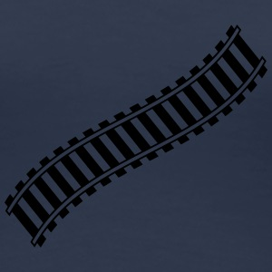 Railways Design T-shirts - Premium-T-shirt dam