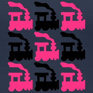 Train Pattern T-Shirts - Women's Premium T-Shirt