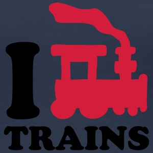 I Love Trains Tee shirts - T-shirt Premium Femme