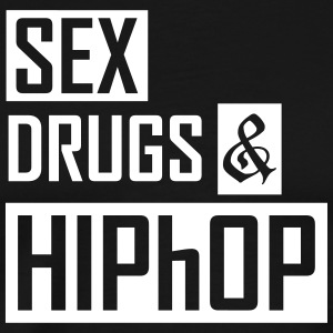 sex drugs and hiphop T-Shirts - Männer Premium T-Shirt