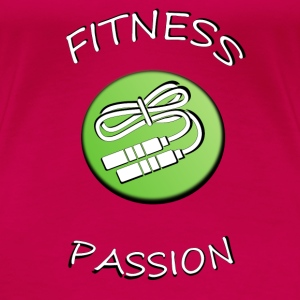 Fitness passion T-Shirts - Frauen Premium T-Shirt