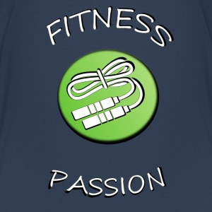 Fitness passion T-shirts - Teenager premium T-shirt