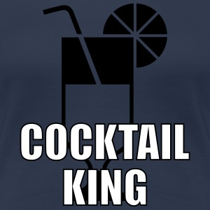 [ Cocktail King ] T-Shirts - Frauen Premium T-Shirt