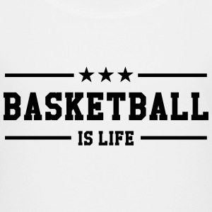 [ Basketball is life ] Shirts - Teenage Premium T-Shirt