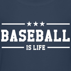 [ Baseball is life ] Shirts - Teenage Premium T-Shirt