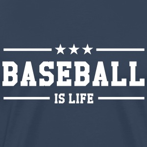 [ Baseball is life ] Tee shirts - T-shirt Premium Homme