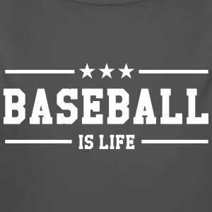 [ Baseball is life ] Sweats - Body bébé bio manches longues