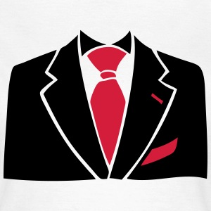 costume cravate business man 1 Tee shirts - T-shirt Femme