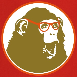 Nerdy Ape with Glasses  Aprons - Cooking Apron