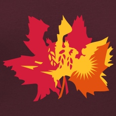 Autumn maple leaves T-Shirts