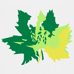 Autumn maple leaves Shirts - Teenage Premium T-Shirt