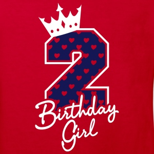 Zweiter Geburtstag-Second Birthday-Birthday Girl Shirts - Kinderen Bio-T-shirt