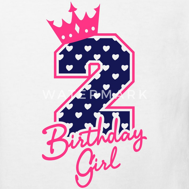 Zweiter Geburtstag-Second Birthday-Birthday Girl Shirts - Kids' Organic T-shirt