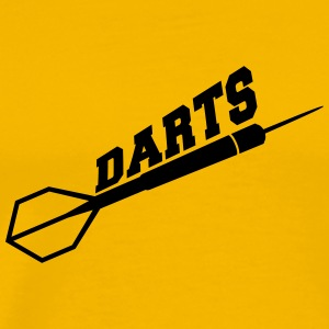 Darts Design T-Shirts - Men's Premium T-Shirt