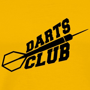 Darts Club Logo T-shirts - Mannen Premium T-shirt