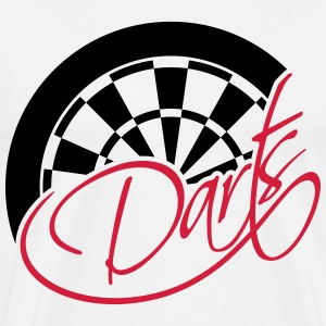Darts Board Logo Design T-Shirts - Men's Premium T-Shirt