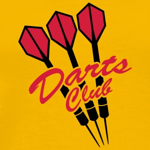 Darts Club T-shirts - Mannen Premium T-shirt