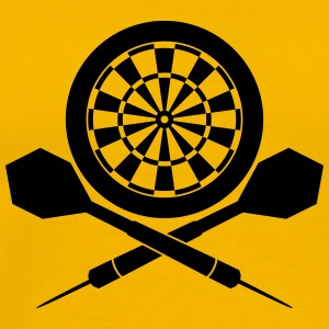 Darts Board Logo T-Shirts - Men's Premium T-Shirt