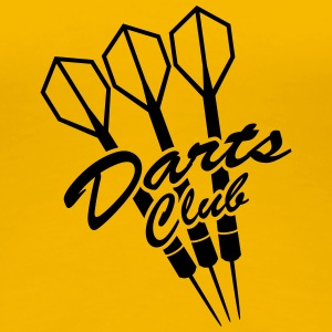 Darts Club T-shirts - Vrouwen Premium T-shirt