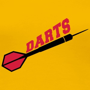 Darts Design T-Shirts - Frauen Premium T-Shirt