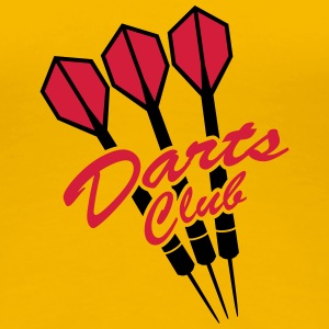 Darts Club T-Shirts - Women's Premium T-Shirt