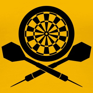 Darts Board Logo T-Shirts - Frauen Premium T-Shirt