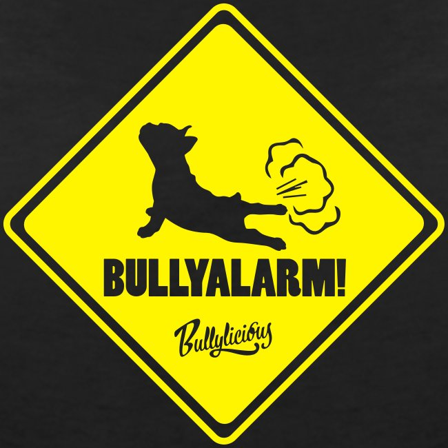 """T-Shirt """"Bullyalarm"""" BLACK WOMEN"""