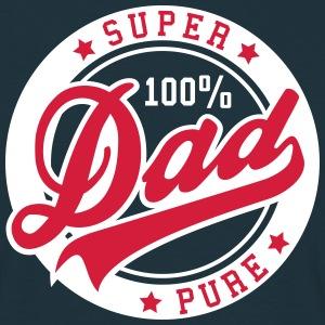100 percent PURE SUPER DAD 2C T-Shirt RW - Männer T-Shirt