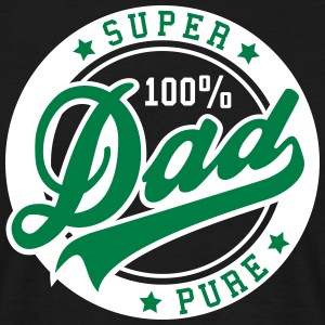 100 percent PURE SUPER DAD 2C T-Shirt GW - Mannen T-shirt