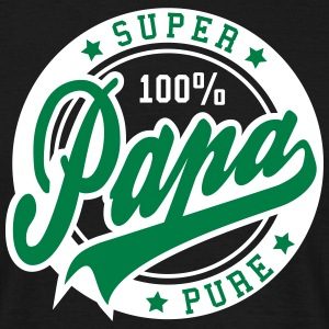 100 percent PURE SUPER PAPA 2C T-Shirt GW - Mannen T-shirt